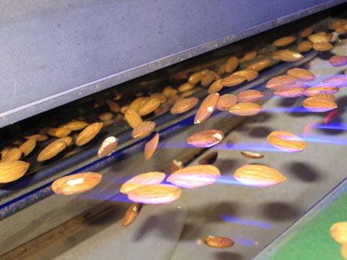 دستگاه سورتینگ بادام زمینی و بادام درختی (خرید، قیمت 1400)